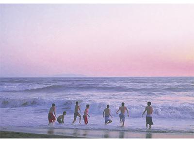 湘南の海、四季の移ろい