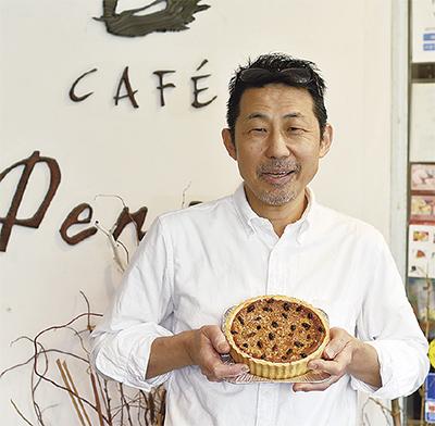 カフェパンセに神奈川賞
