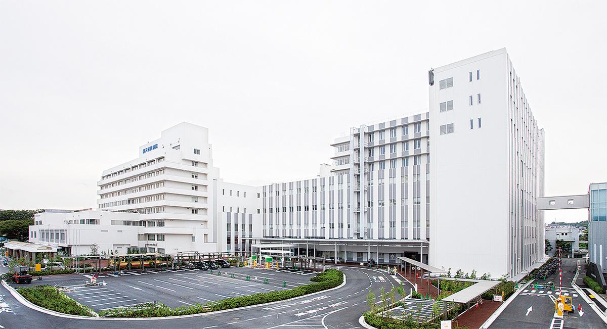 市民病院 整備工事が完了