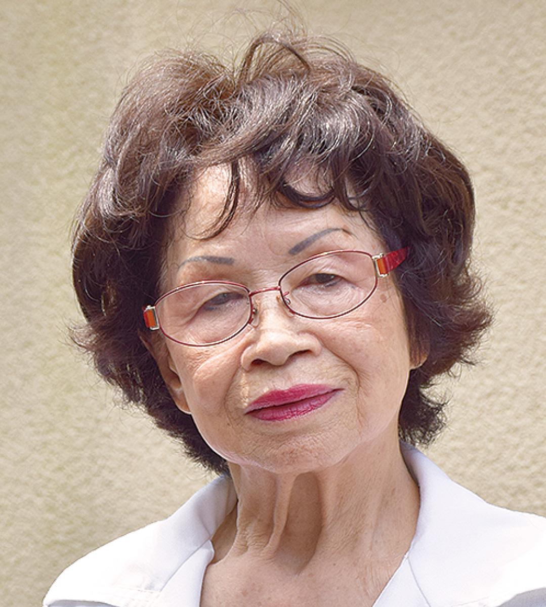 会長 甲谷富佐子さん