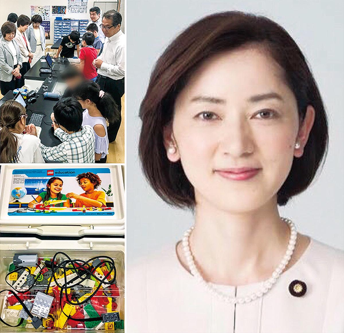 佐々木さやか参院議員が橋渡し藤沢市のプログラミング教育を促進
