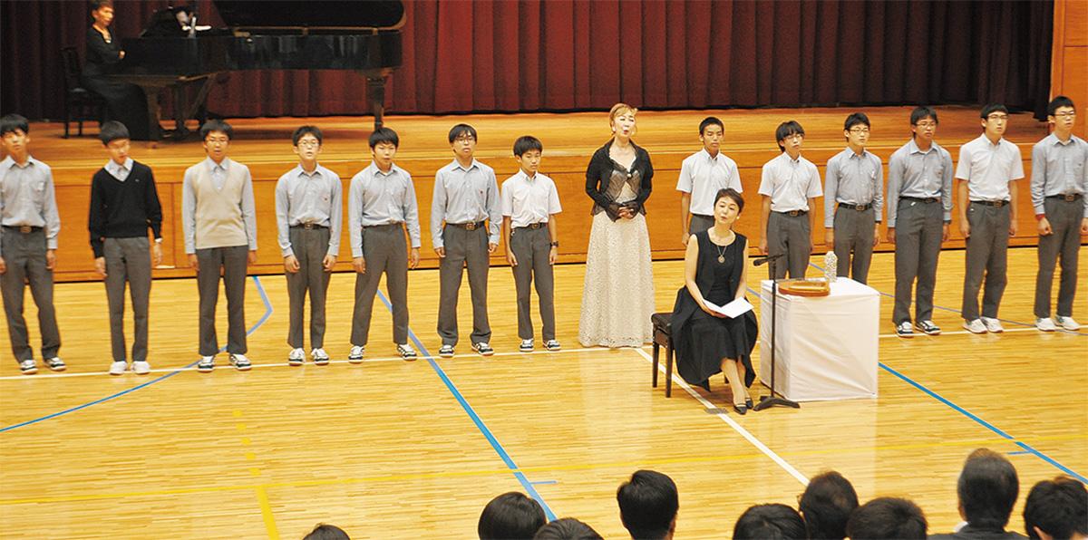 平和の尊さ、朗読劇で学ぶ