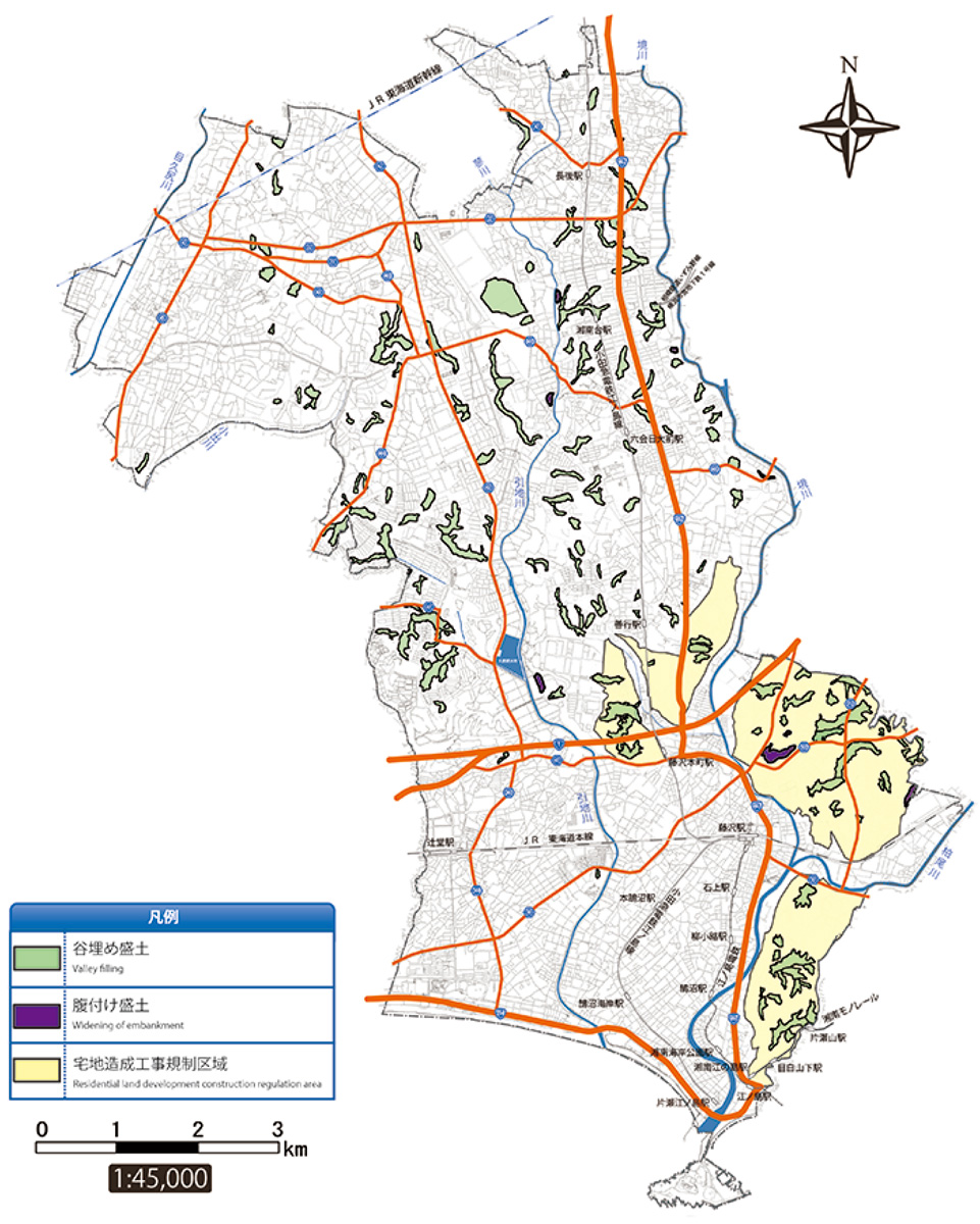 盛土造成地マップを公表