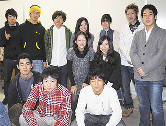 昨年12月、最後の会議に集まった実行委員会メンバー