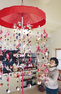 端切れを利用し、日本の伝統文化を紹介