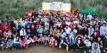 宮城県石巻市での「浜人祭」
