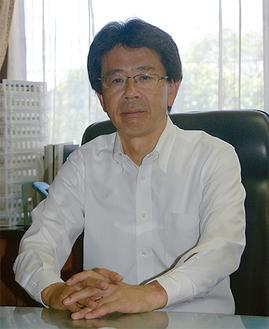 「鎌倉はとても魅力的な街」と瀧澤副市長=7月9日市役所
