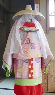 北条政子の衣装