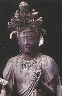 特別公開される「十一面観音菩薩立像」(青蓮寺所蔵)