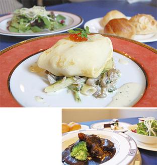 可愛らしい一軒家のお店で味わうフレンチは絶品。松茸のランチが読者限定で、2千円になるお得情報も見逃せない