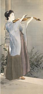 秋宵 明治36年(1903) 鎌倉市鏑木清方記念美術館蔵