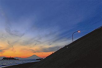 「富士山」(古川三紀雄)