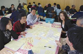 2月に行われたオープンミーティング