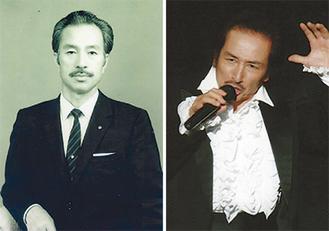 八洲秀章(左)と沢木順さん
