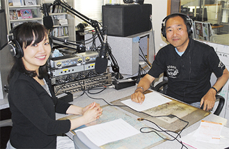 礒さん(左)と上田さん