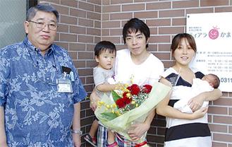 2012年8月に生まれた1千人目の赤ちゃん