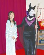 小町で仮装コンテスト