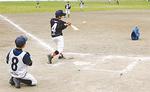 清水さん考案の「トスベースボール」