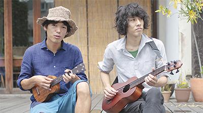 小川コータさん(左)ととまそんさん