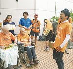 松尾市長も5区から参加