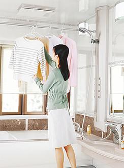 浴室乾燥暖房機などの特典も