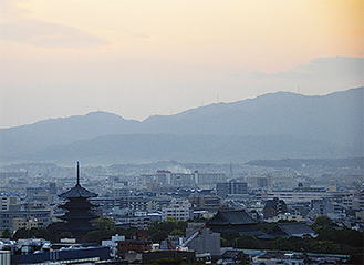 京都市遠望