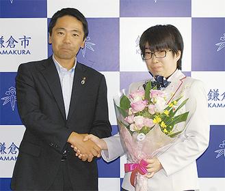 8月10日には松尾市長を表敬訪問した