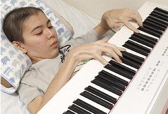 病床でも作曲を続けた加藤さん