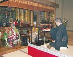 2014年4月に行われた「復興祈念法要・茶会」(上写真)