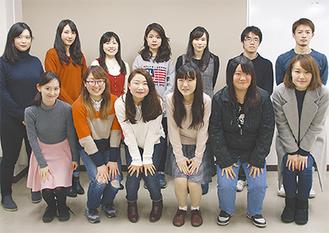 昨年12月22日、式典前最後の会合に集まった実行委のメンバー
