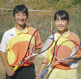 熊谷さん(左)と鈴木さん