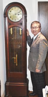 70年以上時を刻み続ける時計と北村社長