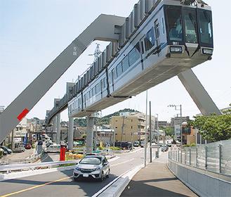 鎌倉武道館前までの通行が可能に