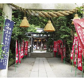 大町の八雲神社(明治以前は祇園天王社)