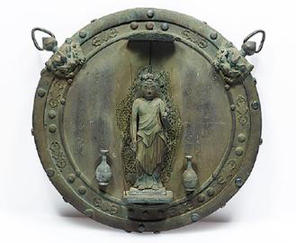 銅造 十一面観音懸仏(重要文化財)