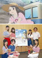 鎌倉舞台のアニメ映画公開