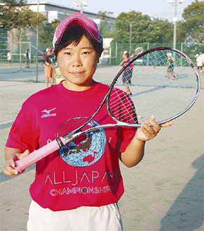 「練習してきたことを発揮したい」と鈴木さん