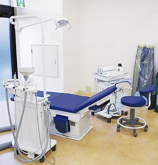 障害者診療のための診療台
