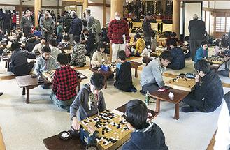 「子供囲碁大会」が10年目