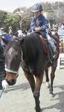 乗馬体験で大賑わい