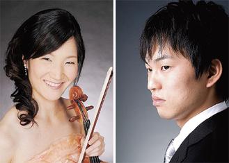 花岡さん(左)林さんが出演