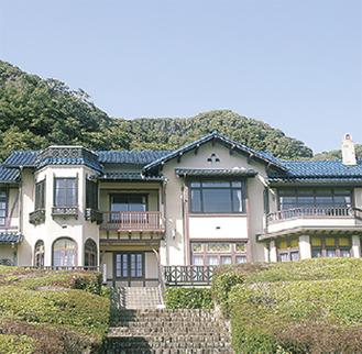 西洋建築の鎌倉文学館
