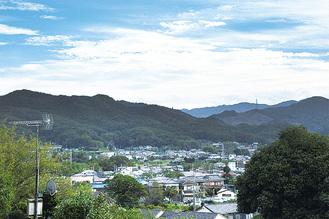 小川町遠望