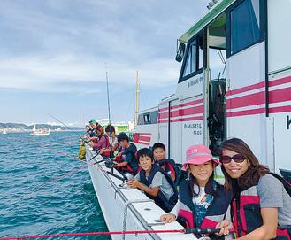 昨年の船釣り体験