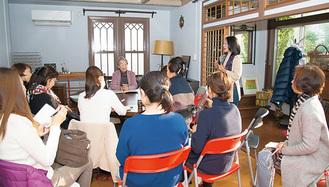 同会が開催しているセミナーの様子=夏野葉月さん撮影