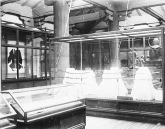開館当初の展示風景