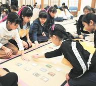 建長寺で鎌倉かるた大会