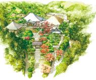 鳥の目で見る鎌倉の寺社