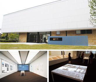 鎌倉文華館 鶴岡ミュージアムの正面玄関と館内