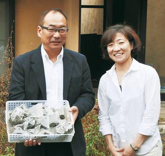 料理研究家・矢野さん(右)
